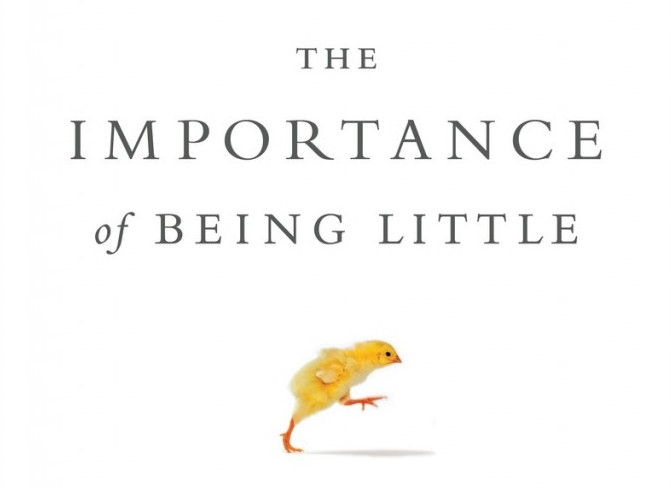 The Next Page: 'The Importance of Being Little', or Let ...