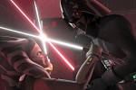 Star Wars Rebels: Ahsako vs. Darth Vader