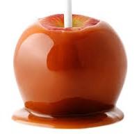 Halloween Candy Politics Caramel Apple