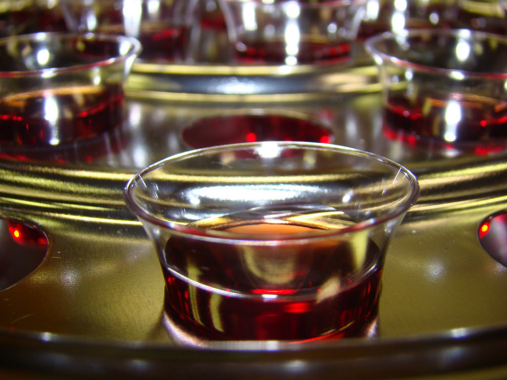 The Story of Those Little Communion Cups, Whatever Those Are